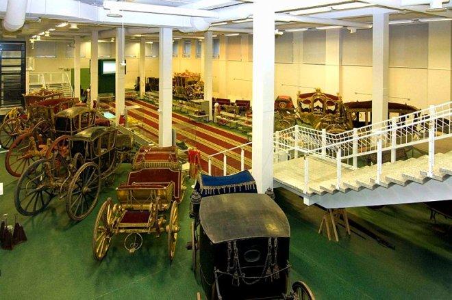 hermitage deposito petersburgo carruagens