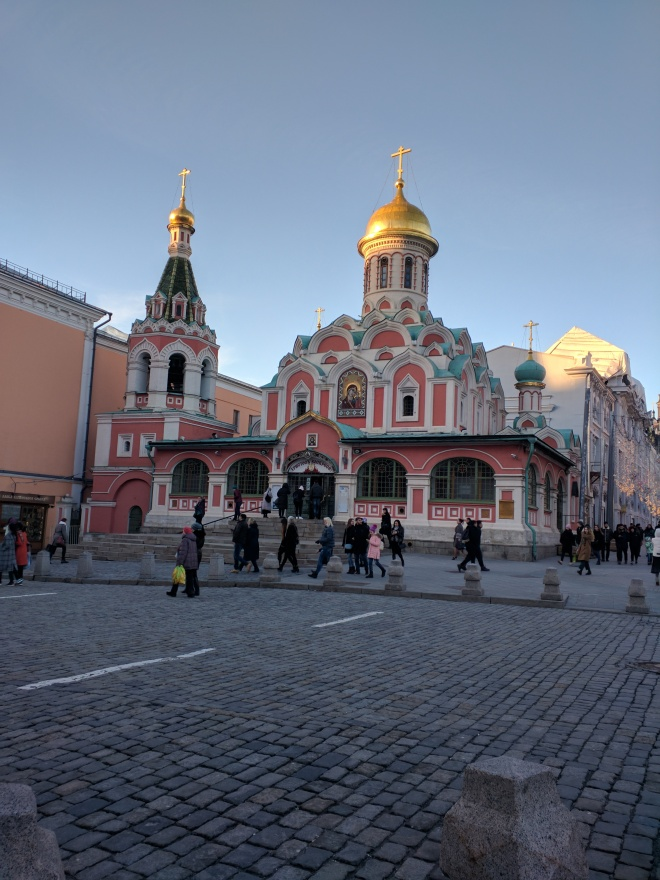 Igreja kazan praça vermelha destruída comunismo