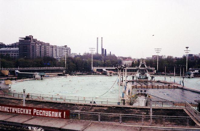 moskva pool maior piscina aquecida igreja salvador moscou