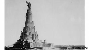 palacio dos sovietes planejado moscou comunismo