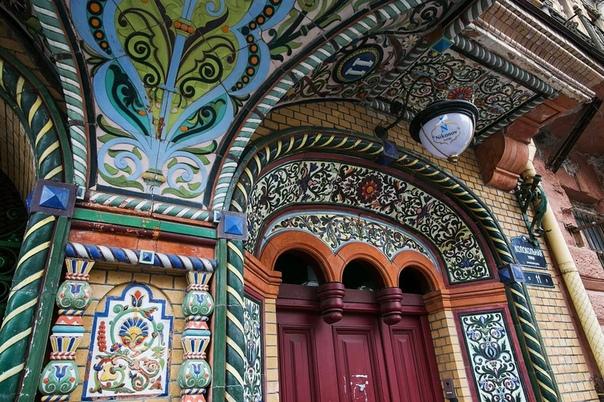 Petersburgo entrada de luxo de uma casa 3