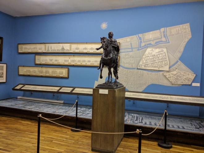 Petersburgo Fortaleza de Pedro e Paulo casa do governador