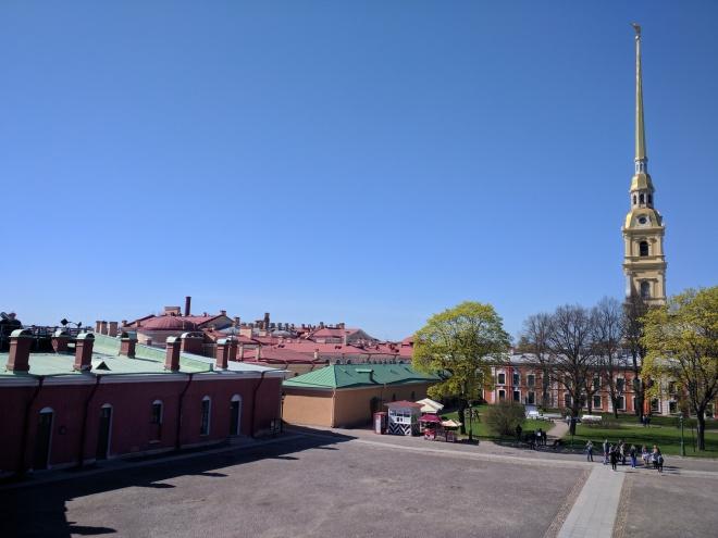 Petersburgo Fortaleza de Pedro e Paulo interior 4