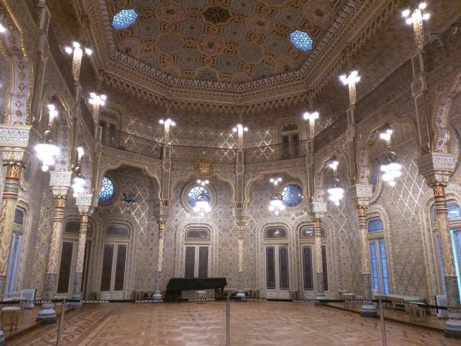Portugal Porto salão árabe palácio da bolsa