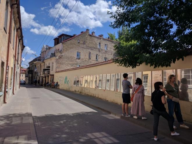 Republica de Uzupis vilnius lituania constituição