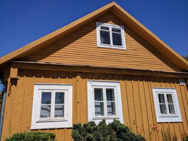 Trakai casas de madeira dos caraitas 1