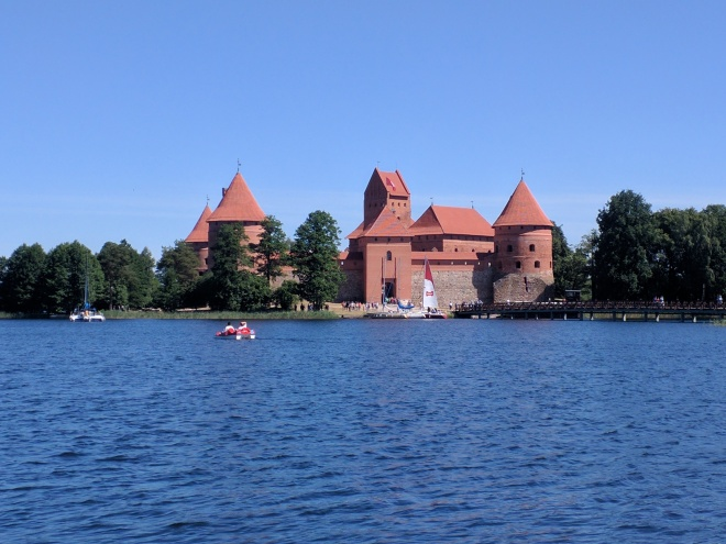 Trakai castelo na ilha lituania 2