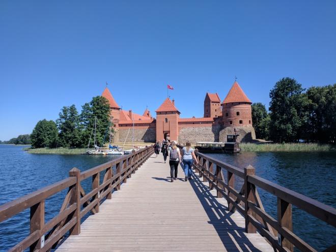 Trakai castelo na ilha lituania 3