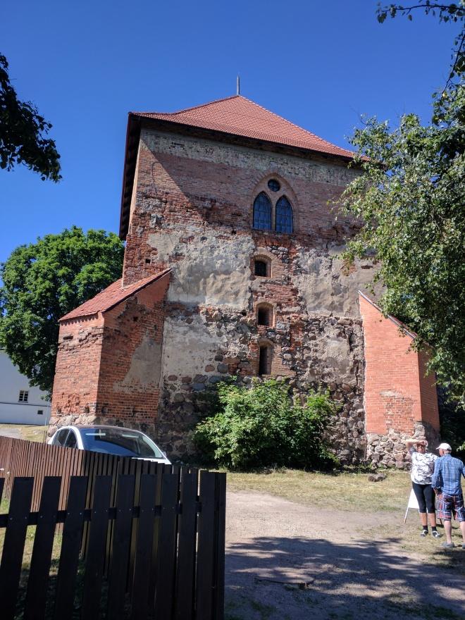 Trakai castelo peninsula torre sul