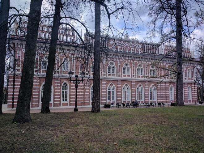 Tsaritsino parque Catarina Moscou 12