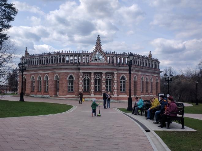Tsaritsino parque Catarina Moscou 16