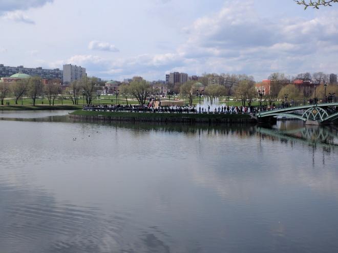 Tsaritsino parque Catarina Moscou 20