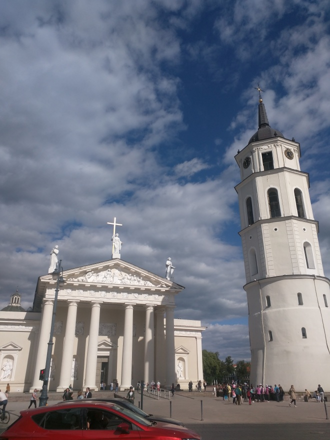 Vilnius Lituania catedral