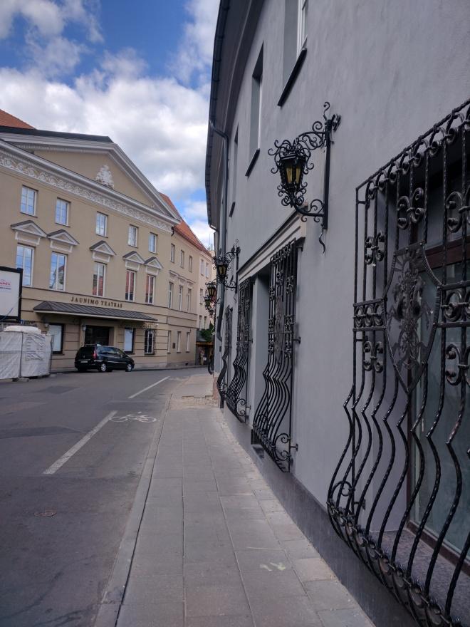 Vilnius Lituania centro historico