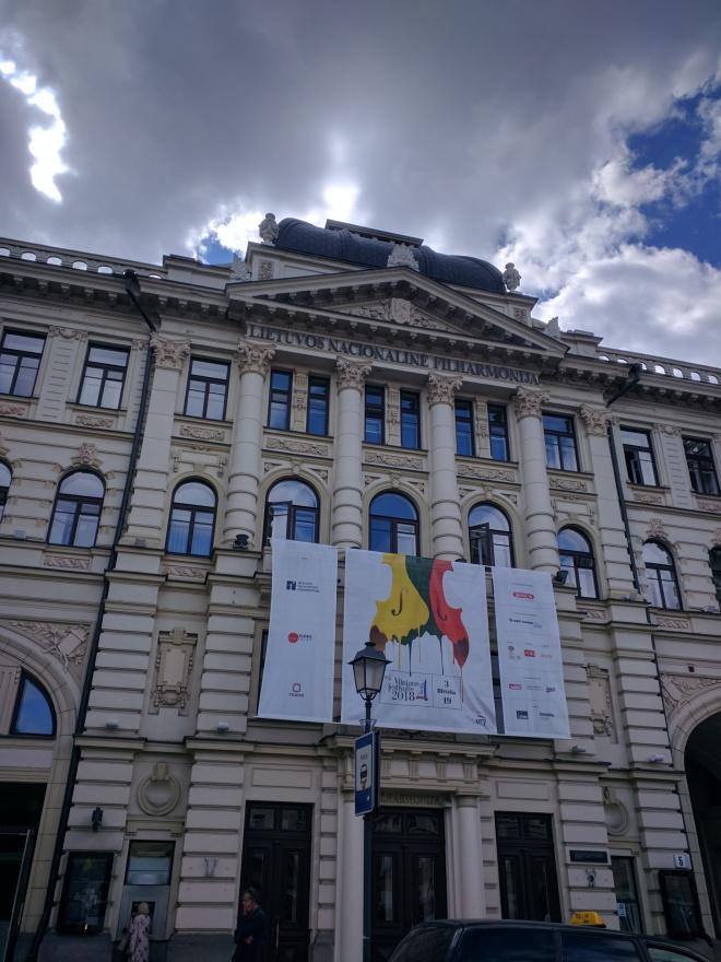 Vilnius Lituania filarmônica nacional