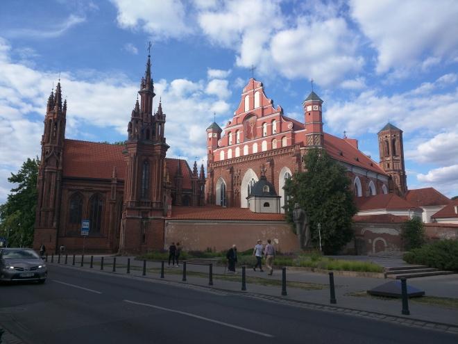 Vilnius Lituania igrejas santa ana sao francisco 2