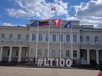 Vilnius Lituania palacio presidencial