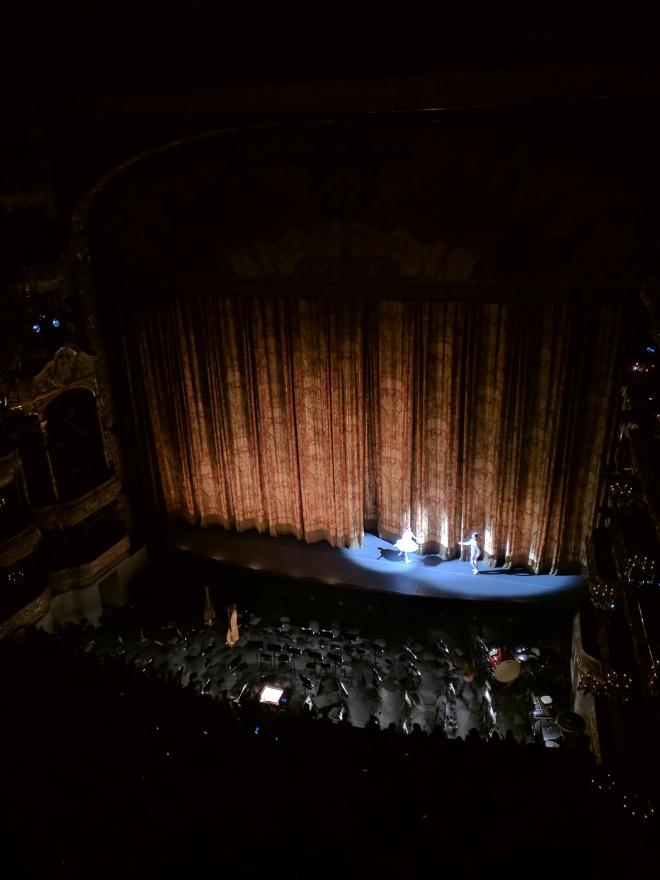 Ballet Bolshoi Moscou aplausos bailarinos