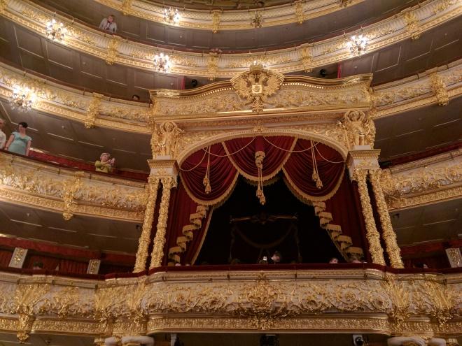 Ballet Bolshoi Moscou assentos de honra