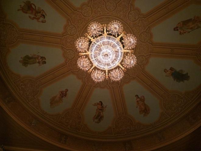 Ballet Bolshoi Moscou telhado