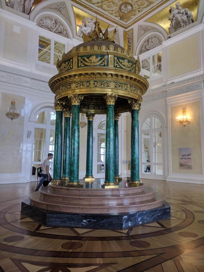 Petersburgo Hermitage baldaquino