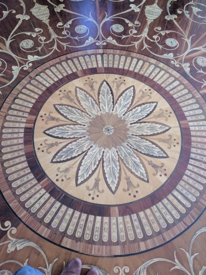 Petersburgo Hermitage chão de madeiras raras