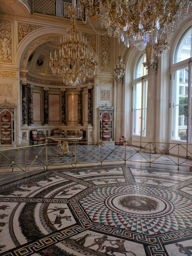 Petersburgo Hermitage mosaicos romanos