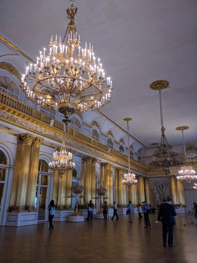 Petersburgo Hermitage um salão de baile