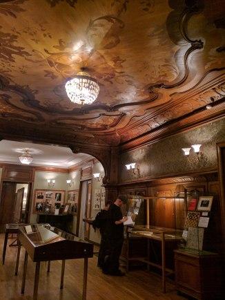 Casa museu Nabokov Petersburgo interior da casa