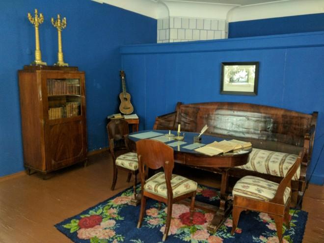 Moscou apartamento Dostoievski sala