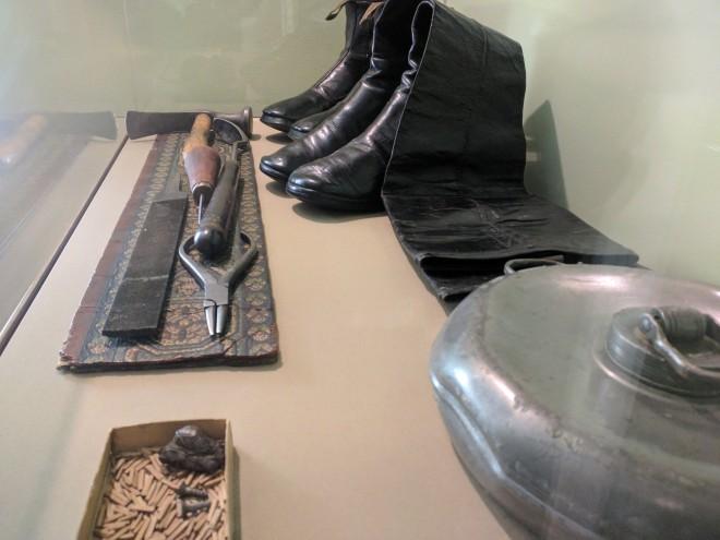 Moscou casa Tolstoi oficina de sapatos