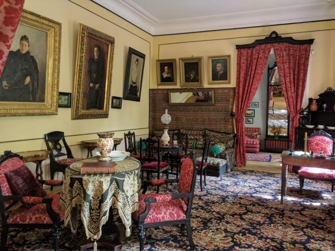Moscou casa Tolstoi sala