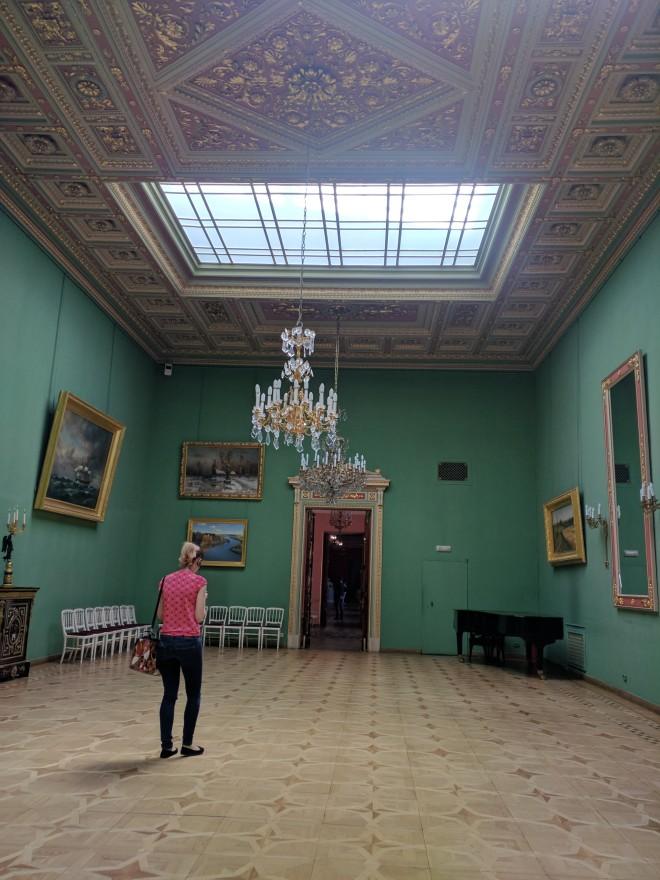 Petersburgo palacio Iussupov galerias da pinacoteca