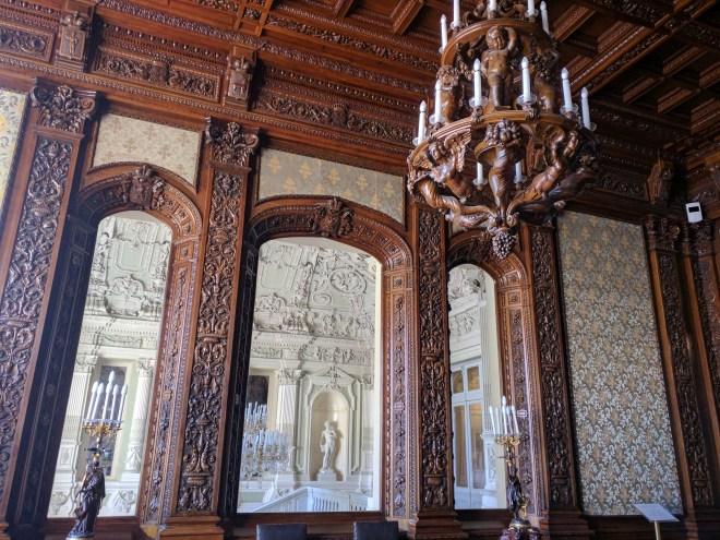 Petersburgo palacio Iussupov paineis madeira