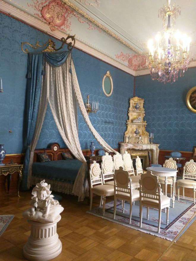 Petersburgo palacio Iussupov quarto cerimonial