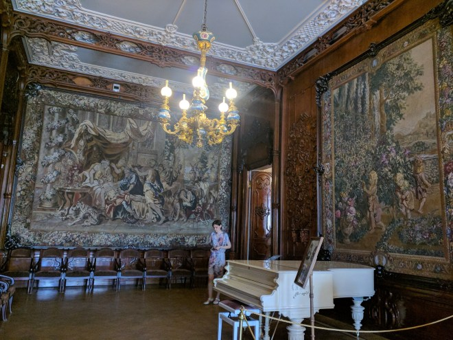 Petersburgo palacio Iussupov tapeçarias napoleão