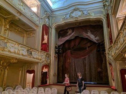 Petersburgo palacio Iussupov teatro 1