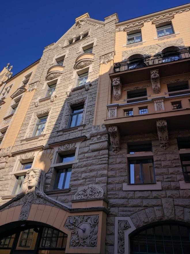 Riga Letonia art nouveau do norte