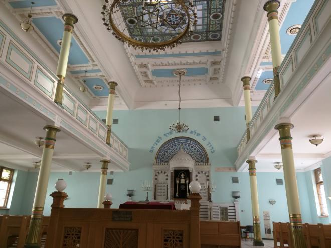 Riga Letonia art nouveau sinagoga