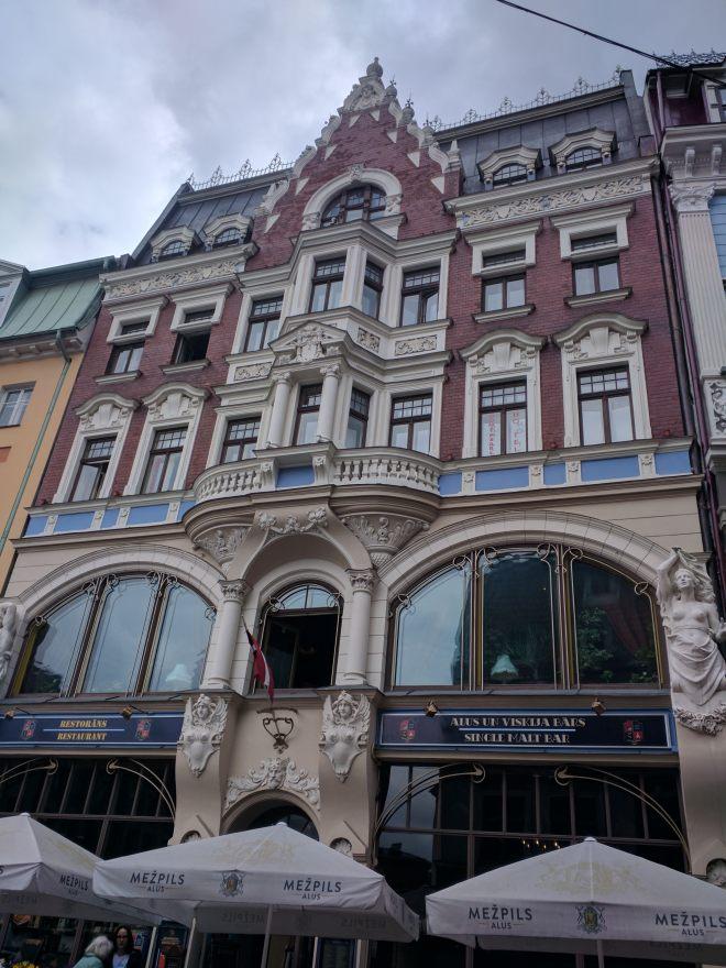 Riga Letonia casa art nouveau 2