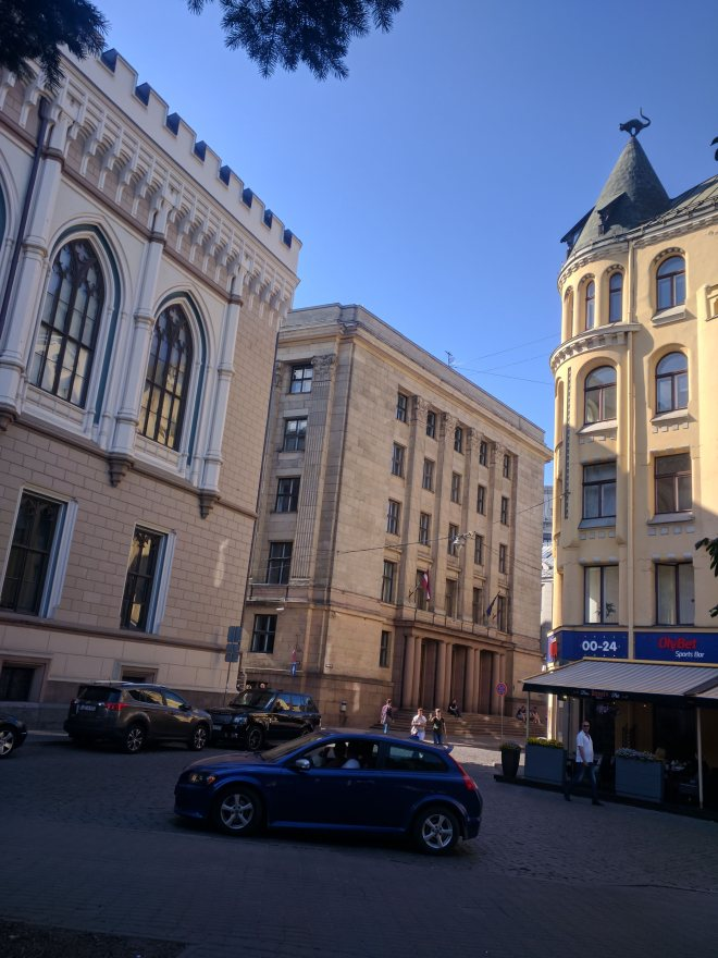 Riga Letonia casa gato corporação