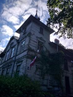 Riga Letonia casas de madeira