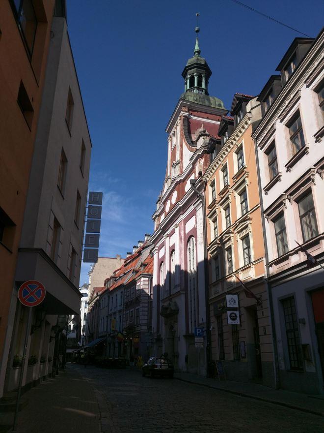 Riga Letonia igreja