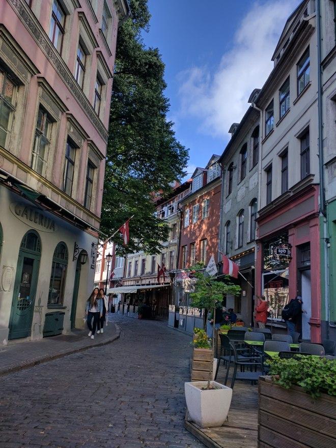 Riga Letonia ruazinha