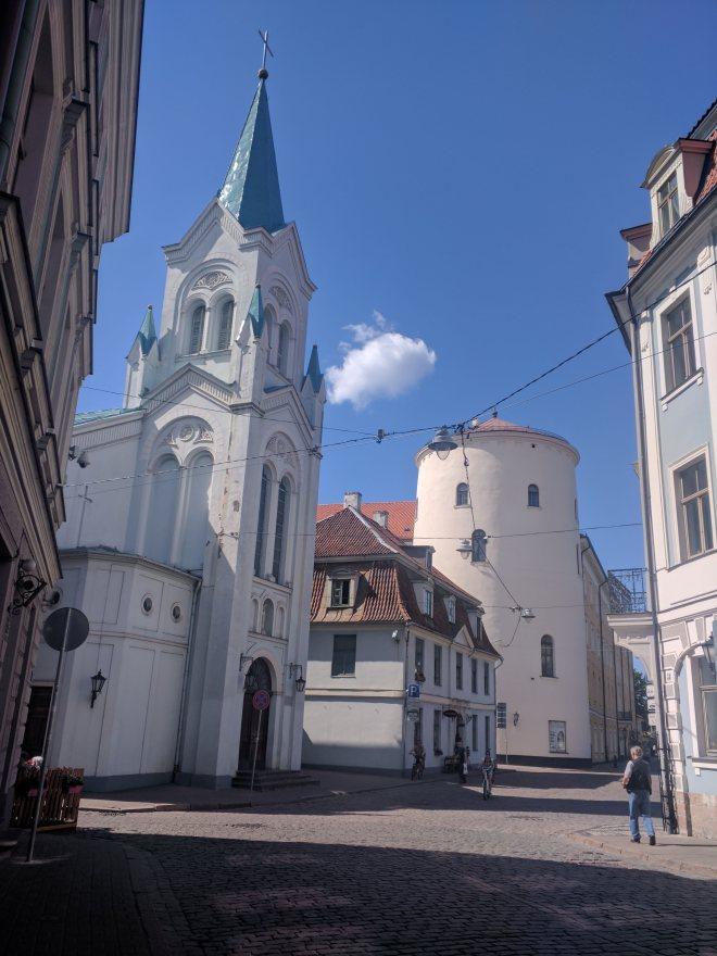 Riga Letonia ruazinhas