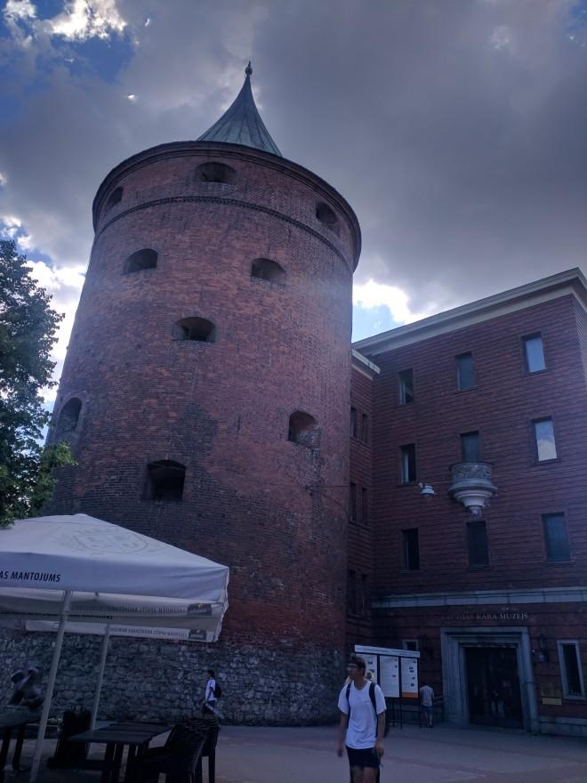 Riga Letonia torre da polvora