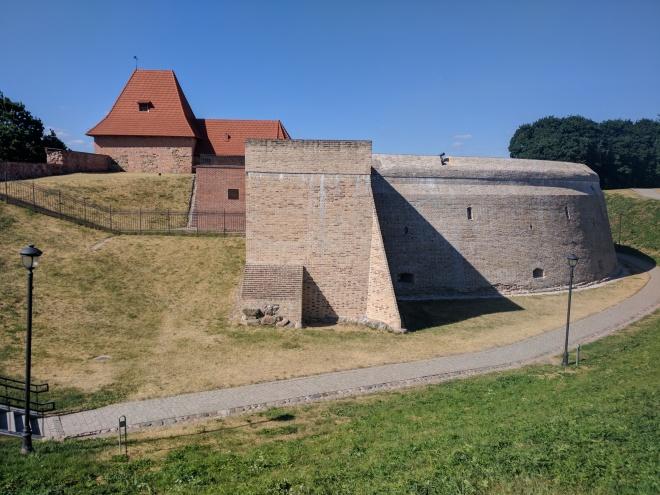 Vilnius Lituania bastião muralhas