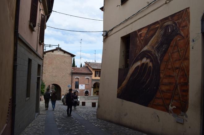 Dozza Bologna muros pintados 15