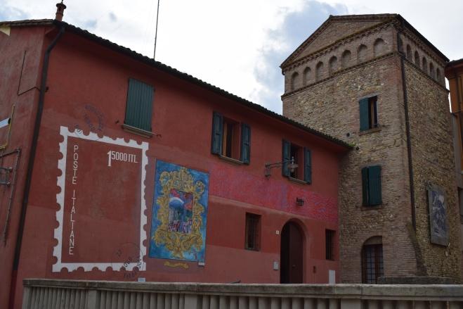 Dozza Bologna muros pintados 19