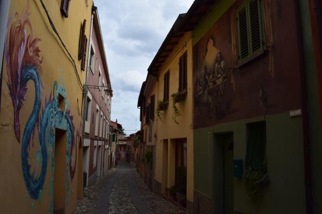 Dozza Bologna muros pintados 20